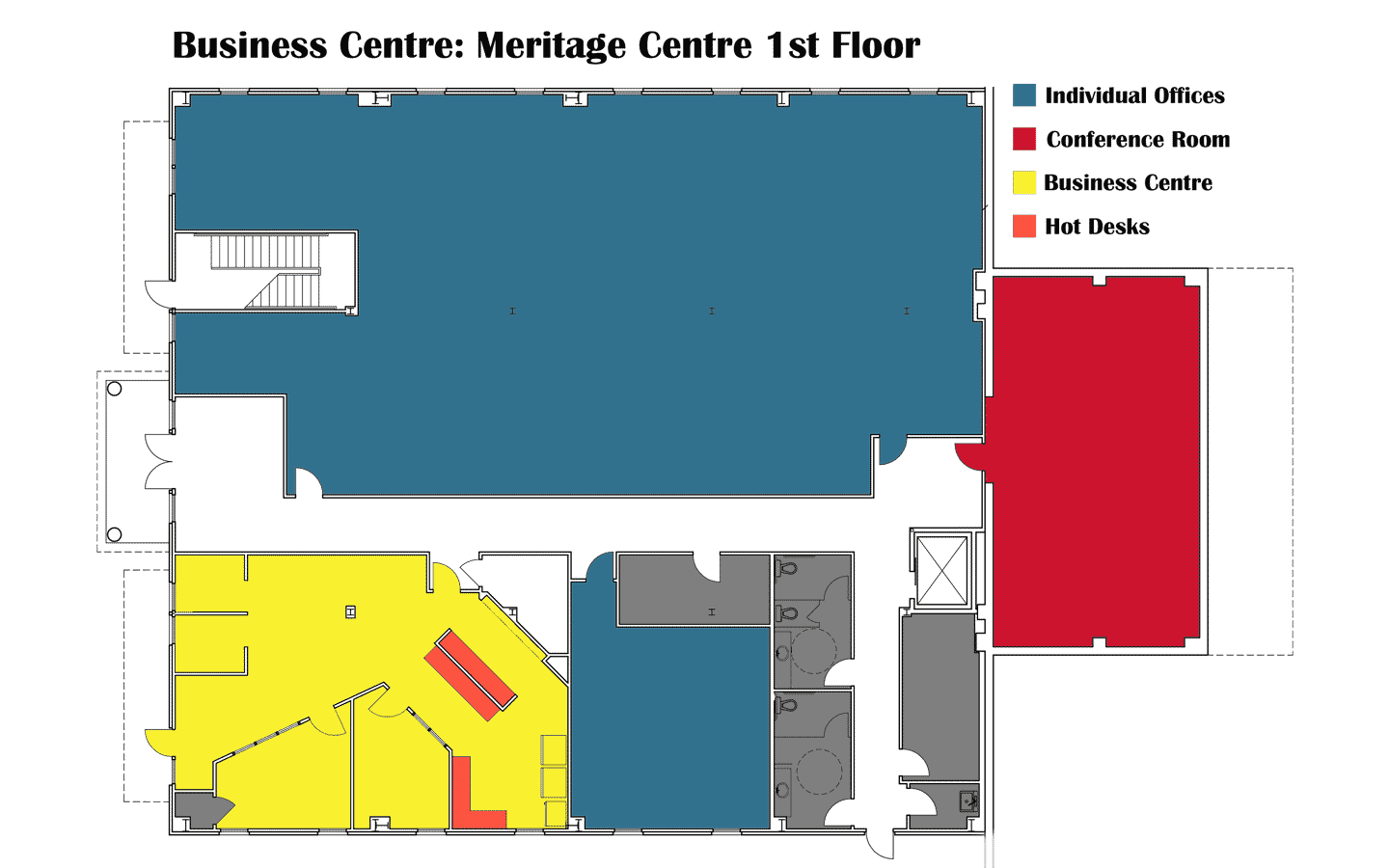 Layout of the first floor